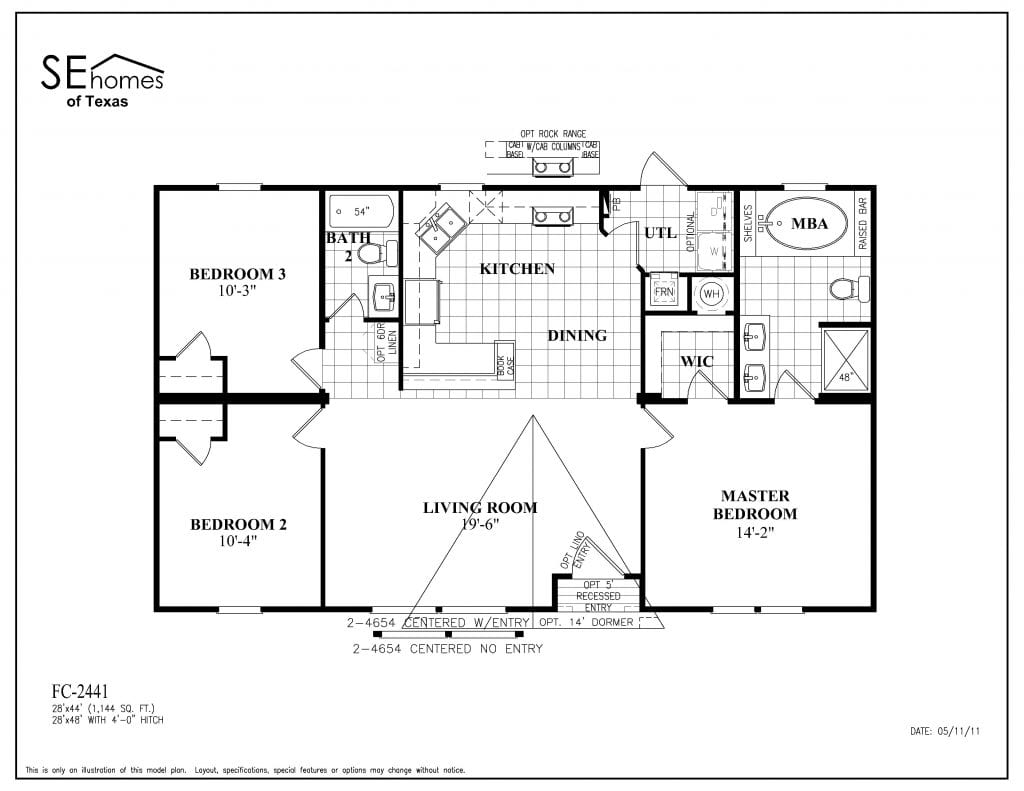 1999 Fleetwood Mobile Home Floor Plan Lovely Manufactured
