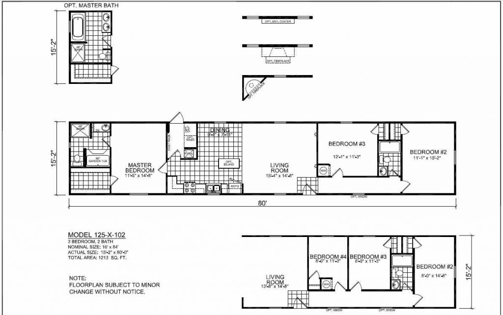 Floor Plans Champion 3268B Manufactured and Modular Homes