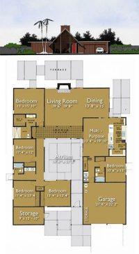 Eichler Home Floor Plans Beautiful Build An Eichler Ranch ...