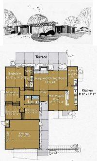 Eichler Home Floor Plans Unique Build An Eichler Ranch ...