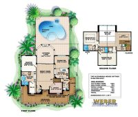 Awesome Floor Plans for Homes with Pools - New Home Plans ...
