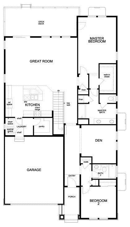 Luxury Floor Plans for Patio Homes