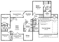 Floor Plans for Ranch Style Homes Fresh Ranch Style Homes ...