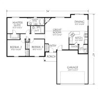 Floor Plans for Single Level Homes Inspirational top One ...