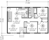 Floor Plans for Small Ranch Homes Luxury Main Floor Plan