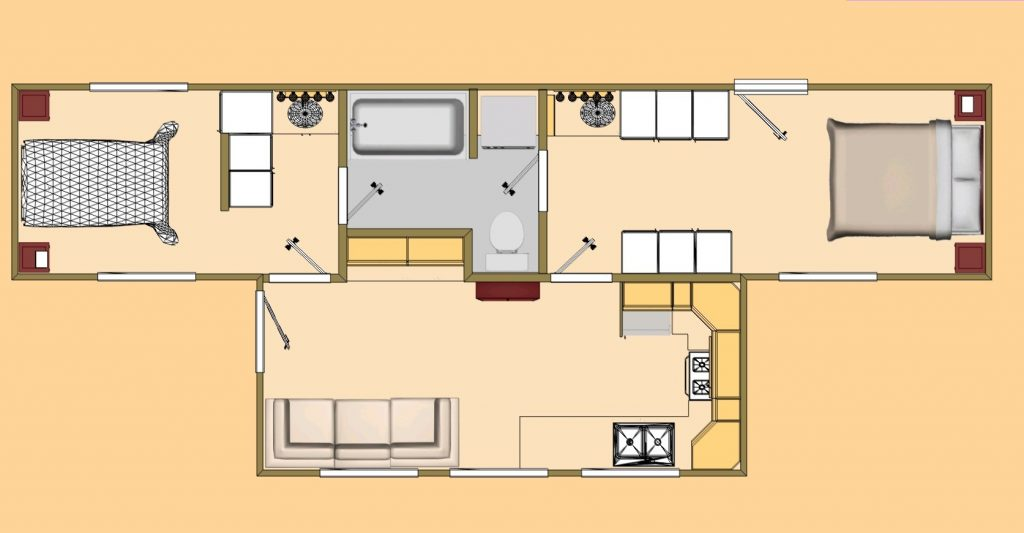 Storage Container Home Floor Plans Best Kitchen Gallery – Floor Plans For Storage Container Homes