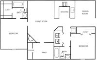 Unique Floor Plans for Two Bedroom Homes - New Home Plans ...