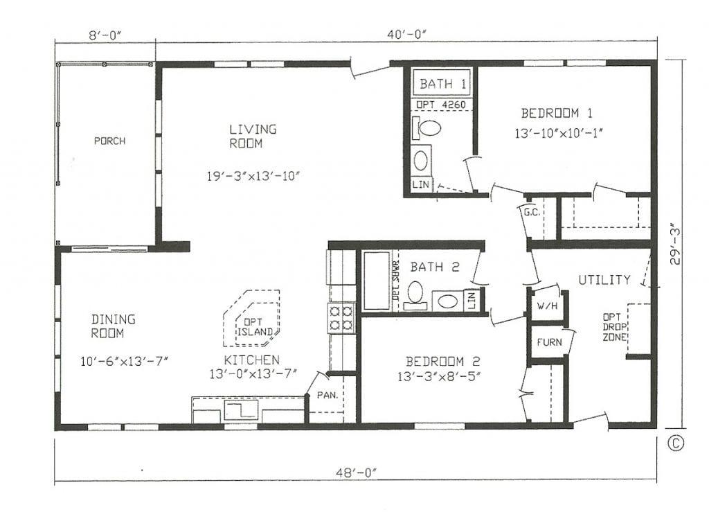 Mfg Homes Floor Plans New Manufactured Homes Floor Plans