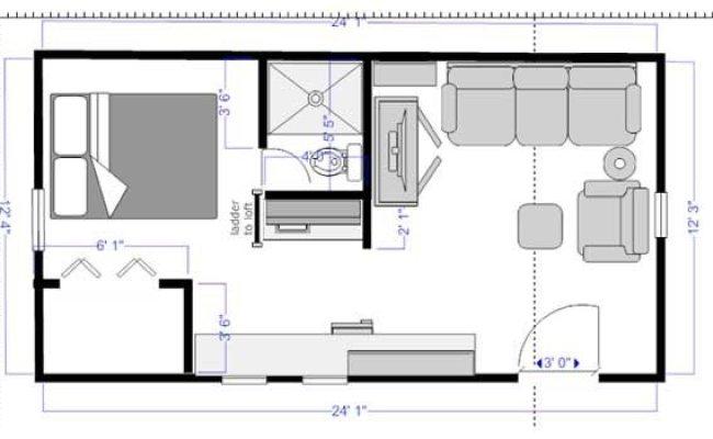 Cool Mini Homes Floor Plans New Home Plans Design