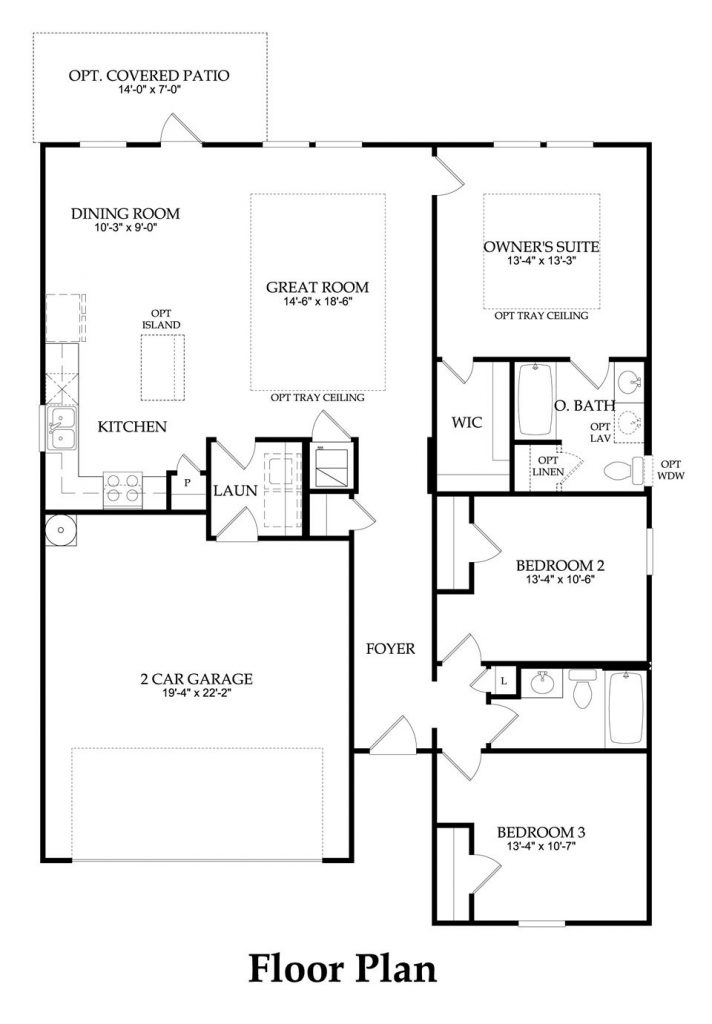Centex Home Floor Plans