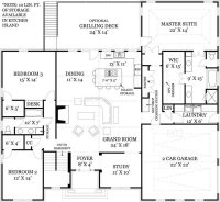 Amazing Open Concept Floor Plans for Small Homes - New ...