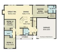 Cool Open Floor Plans Ranch Homes - New Home Plans Design