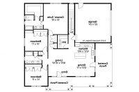 Elegant Prairie Style Home Floor Plans - New Home Plans Design