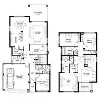 Sample Floor Plans 2 Story Home Unique Double Storey 4 ...