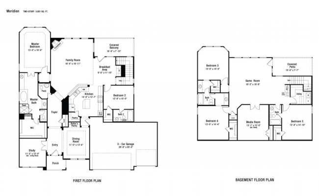 Cool Taylor Morrison Homes Floor Plans New Home Plans Design