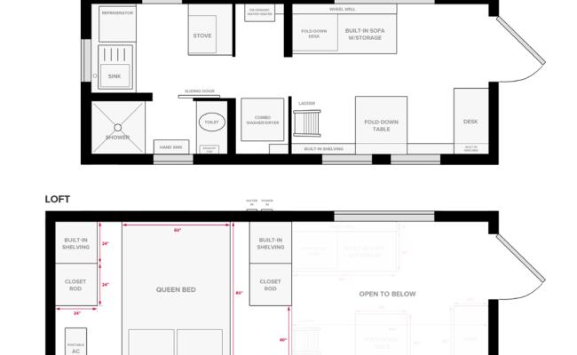 Tiny Home Floor Plans Free Elegant Tiny House On Wheels