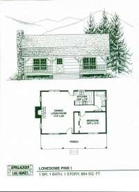 New 1 Bedroom Log Cabin Floor Plans - New Home Plans Design