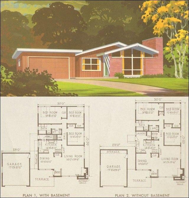 Unique 1950 Ranch House Plans  New Home Plans Design