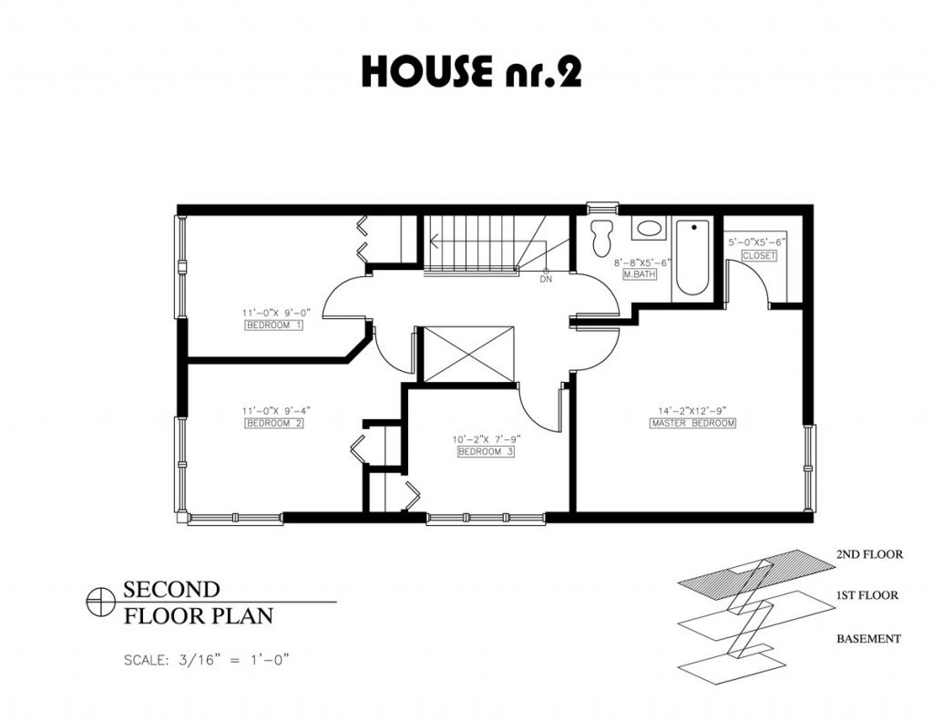 Cool 2 Bedroom House Plans With Open Floor Plan