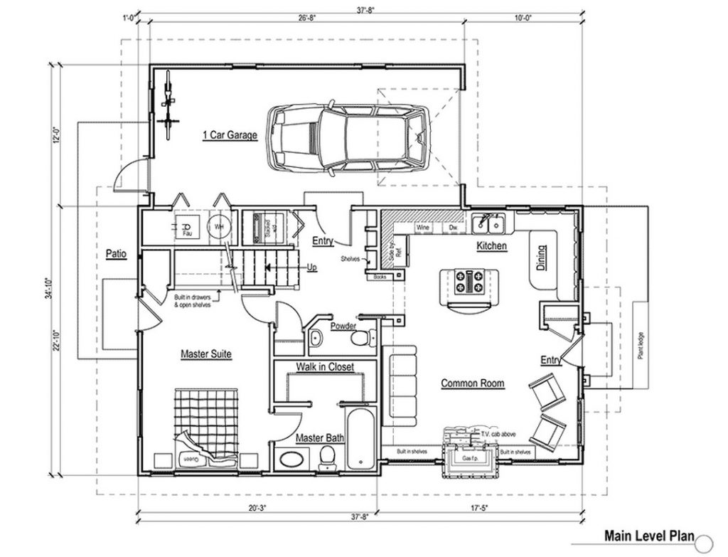 Beautiful 2 Bedroom Timber Frame House Plans
