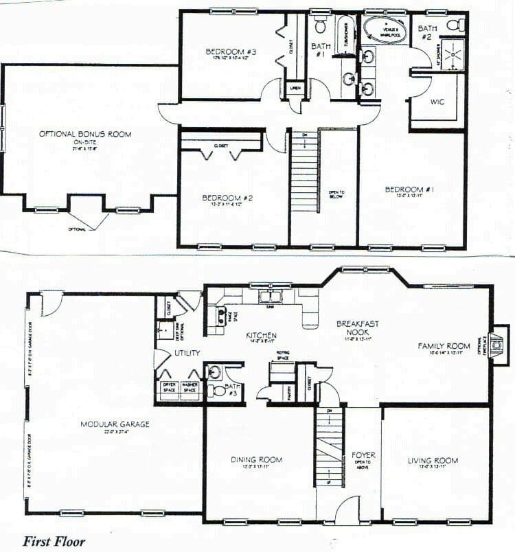 3 Bedroom 2 Storey House Plans Lovely 2 Story House Plans