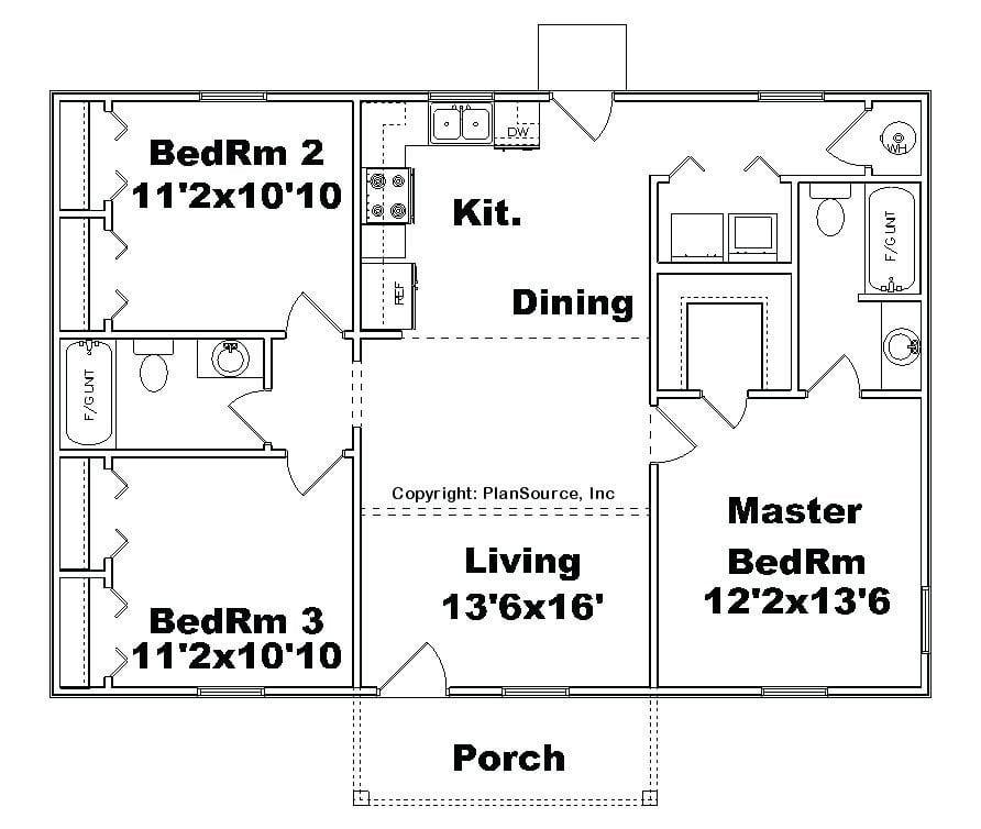 House Plans No Basement