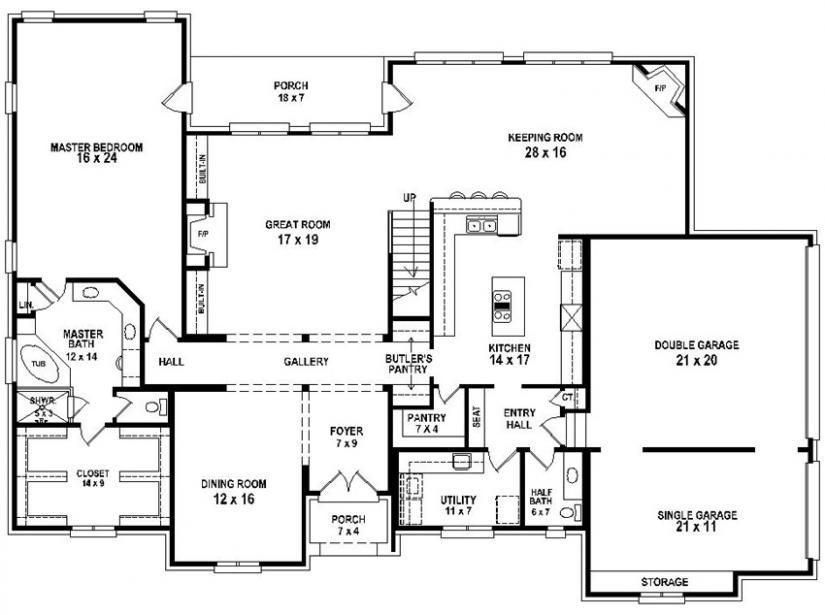 4 Bedroom 2 Bath House Plans Best Of 4 Bedroom 3 Bath