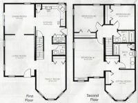 Beautiful 4 Bedroom 2 Storey House Plans - New Home Plans ...