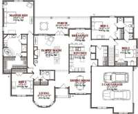 Lovely 4 Bedroom Floor Plans for A House