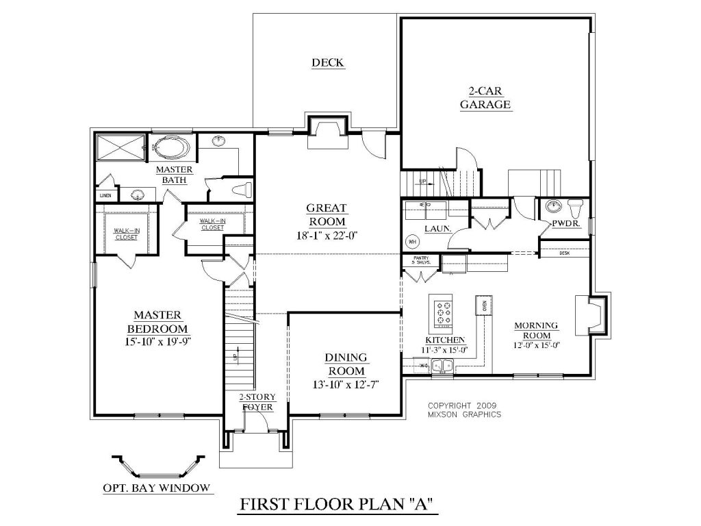 4 Bedroom House Diagram