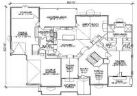 Luxury 5 Bedroom 3 Bath House Plans - New Home Plans Design
