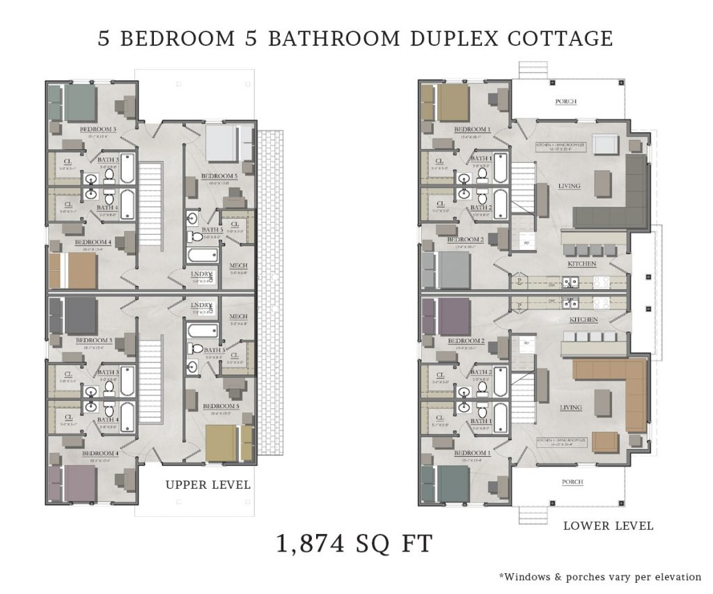Beautiful 5 Bedroom Duplex House Plans  New Home Plans Design
