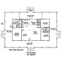 4 bedroom house plans with wrap around porch - 28 images ...