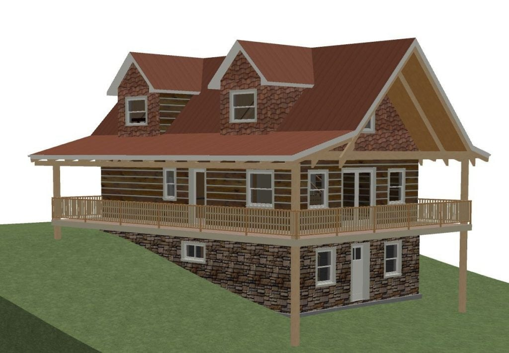 Canadian House Plans with Walkout Basements Beautiful