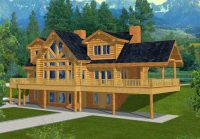 Canadian House Plans with Walkout Basements Elegant