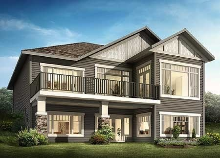 Lovely Canadian House Plans with Walkout Basements