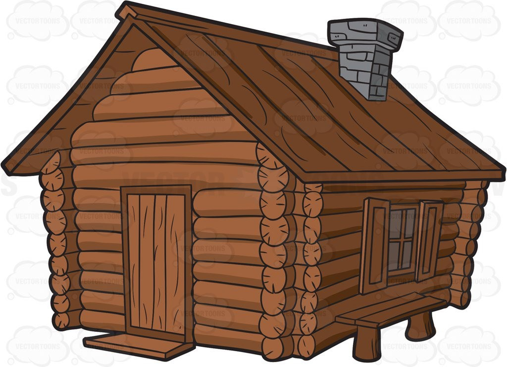Home Built Log Cabin