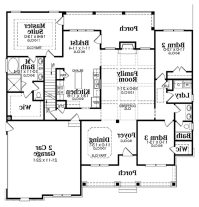 Ranch Style Home Plans For Elegant