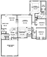 Floor Plans for A 4 Bedroom 2 Bath House Beautiful 3 ...