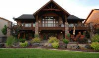 Luxury Hillside House Plans with Walkout Basement - New ...