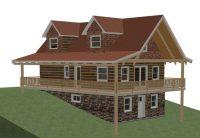 Hillside House Plans with Walkout Basement New House Plan
