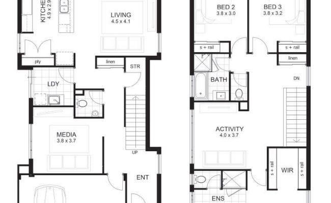 Unique House Plans 2 Story 3 Bedrooms New Home Plans Design
