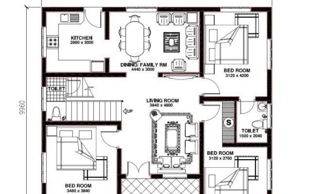 Elegant Kerala Model 3 Bedroom House Plans New Home