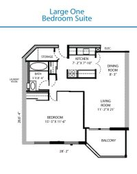 Luxury Large One Bedroom House Plans - New Home Plans Design