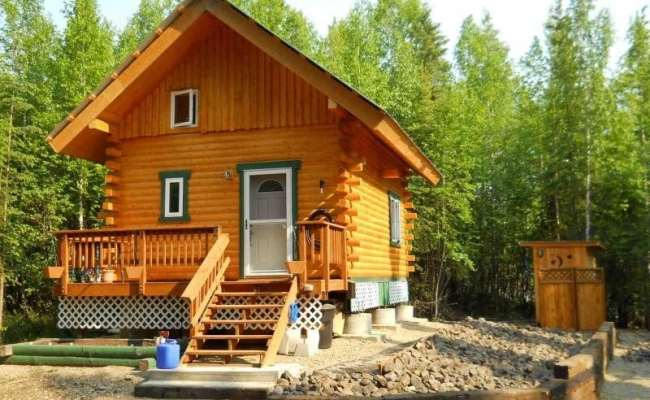 Unique Log Cabins For Sale In Alaska New Home Plans Design