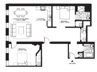 Luxury Two Bedroom House Plans Inspirational Exquisite ...