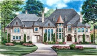 Modern French Country House Plans New Dallas Design Group ...