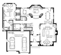 Modern House Plans for Sale Elegant Contemporary Mansion