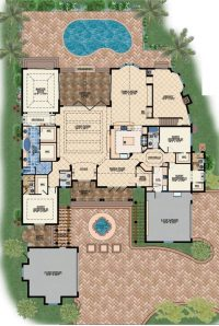 New Modern Mediterranean House Plans