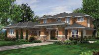 Modern Prairie House Plans New Prairie Style Home Plans ...
